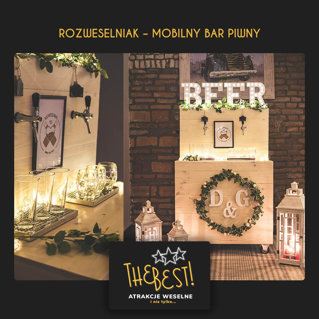 Bar piwny na wesele Rzeszów