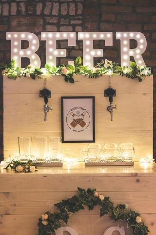 Piwo na weselu Rzeszów